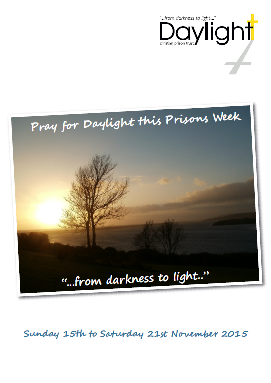 Prisons Week Prayer Diary for Website Pg 1