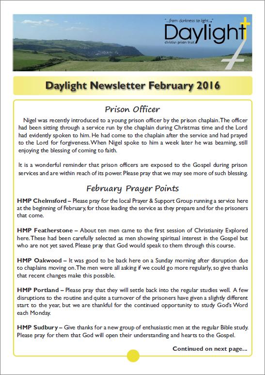 February Newsletter for Website Pg 1