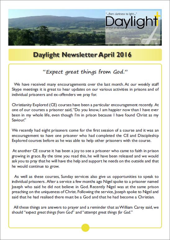 April Newsletter for Website Pg 1