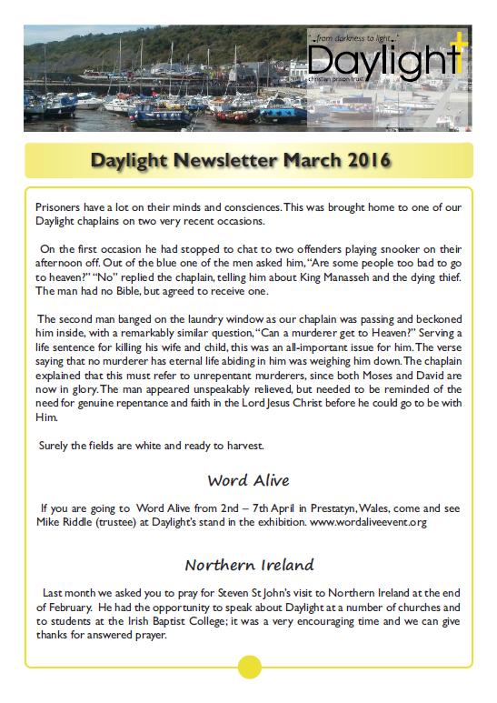 March Newsletter for Website Pg 1