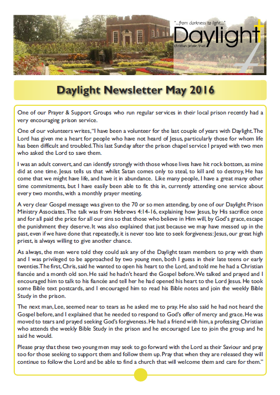 May Newsletter for Website Pg 1