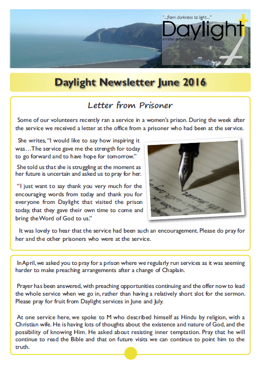 June Newsletter for Website Pg 1