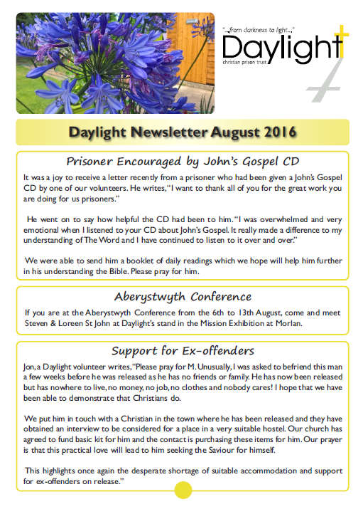 August Newsletter for Website Pg1