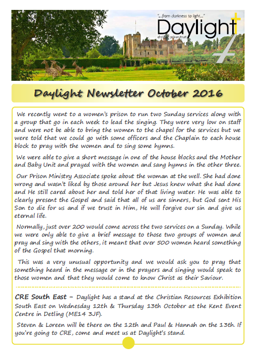 October Newsletter for Website Pg 1